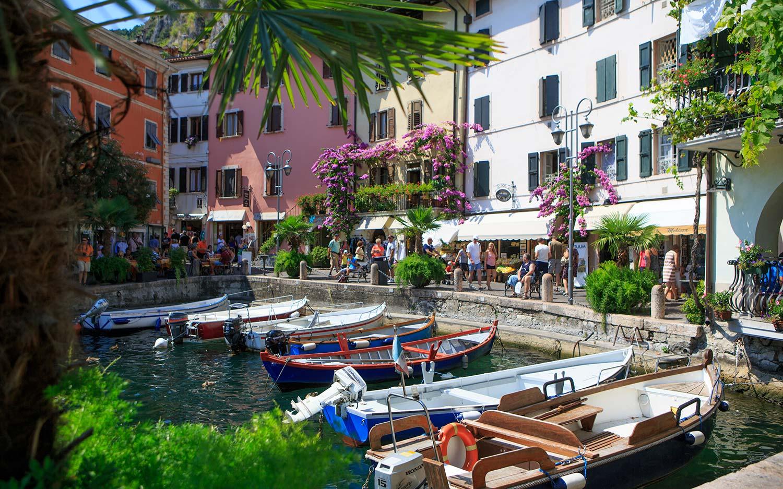 Gefuehlsregnungen in Limone am Gardasee
